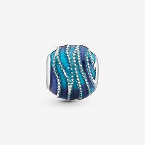 Pandora  Blue Wave Charm